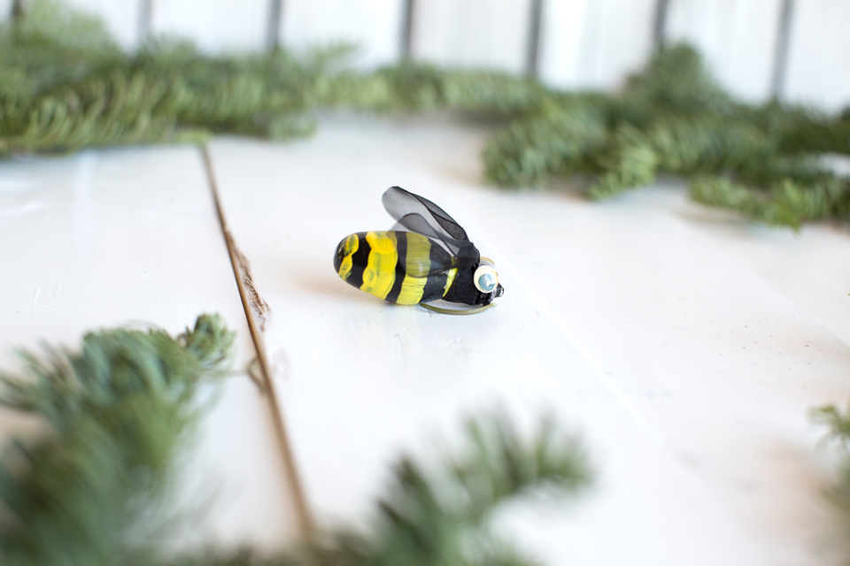 Luckey Bee Ornaments